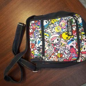 Neon star by tokidoki small crossbody bag